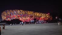 国家体育馆夜景