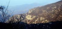 层叠的山岭风景