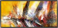 抽象油画高清大图