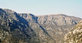冬季的大山