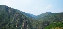 连绵的山景摄影