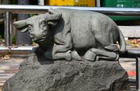牛石雕艺术图片