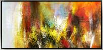 欧美装饰画抽象油画