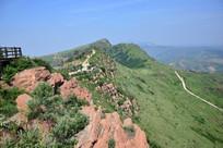 万安山山顶公园景观