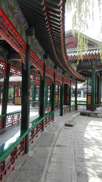 中国长廊景观