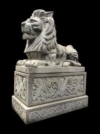 高大的石狮子