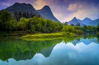 桂林山水一角