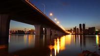 美丽的沙湖大桥