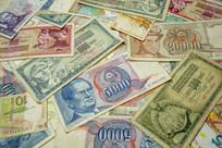前南斯拉夫钞票背景