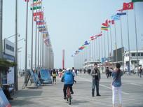 青岛奥林匹克帆船中心旗帜