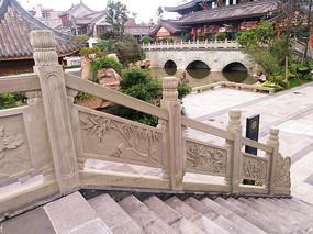 石材工艺台阶扶手