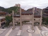 时光贵州古镇街区牌坊