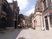 阳光下的时光贵州古镇街区