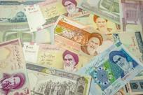 伊朗钞票背景