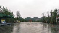 雨后的广场