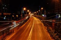 城市夜景光线