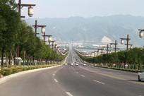 风景区道路远山