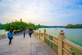 惠州西湖西新桥景观