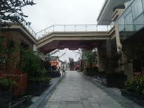 景区石板路
