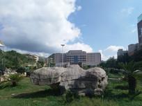 蓝天下的贵州省机械工业学校