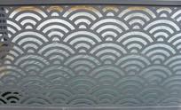 抽象镂空浪花纹背景素材