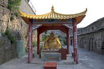 弥勒佛石像