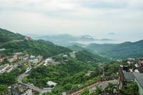 台湾九份山城的山路