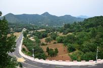 嵩阴风景区道路铺设