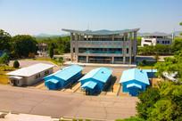板门店朝韩军事分界线景色