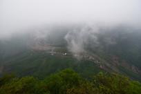 河南林州太行山峡谷风光