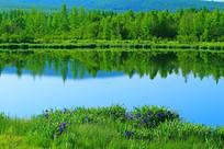 马兰湖风光