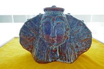 陶瓷《蒙古仕女头饰》