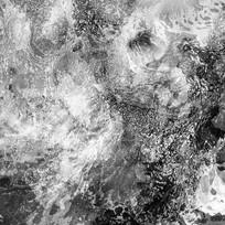 黑白艺术画 水墨 水彩
