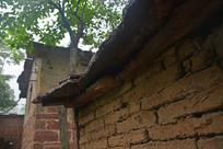 河南太行山村院墙小景