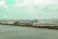 鸟瞰香港国际机场