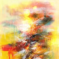 现代风格抽象画