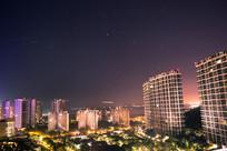 三亚洲际酒店夜景