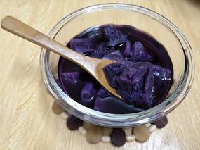 一碗紫薯糖水