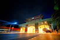 惠州朝京门夜景