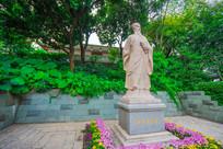 惠州西湖苏东坡塑像