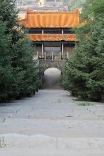 古建筑台阶