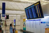 香港国际机场航班信息显示屏