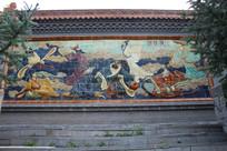 八仙过海墙画
