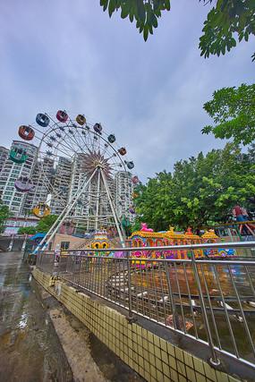 惠州下埔滨江公园摩天轮