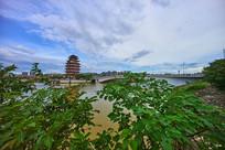 惠州合江楼与东新桥景观