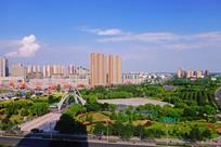 银川园林绿化高楼大厦