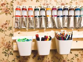 美术绘画颜料