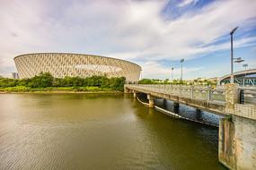 惠州奥林匹克体育场与桥梁