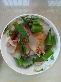 秋葵瘦肉冬瓜