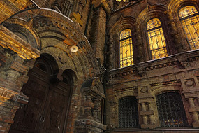 圣·索菲亚大教堂的一角